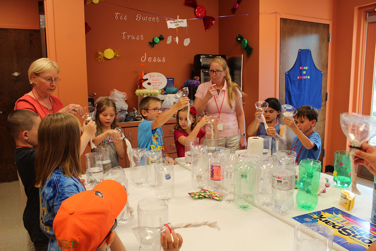 VBS Lava Lamps | Church of the Holy Comforter